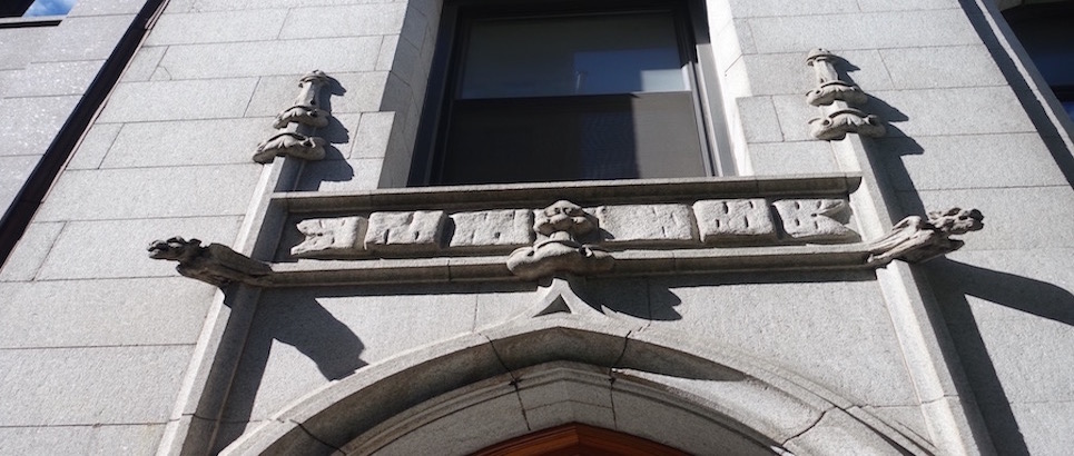 Gargoyles At Entrance
